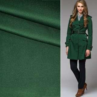 Полівіскоза костюмна стрейч зелена темна ш.150