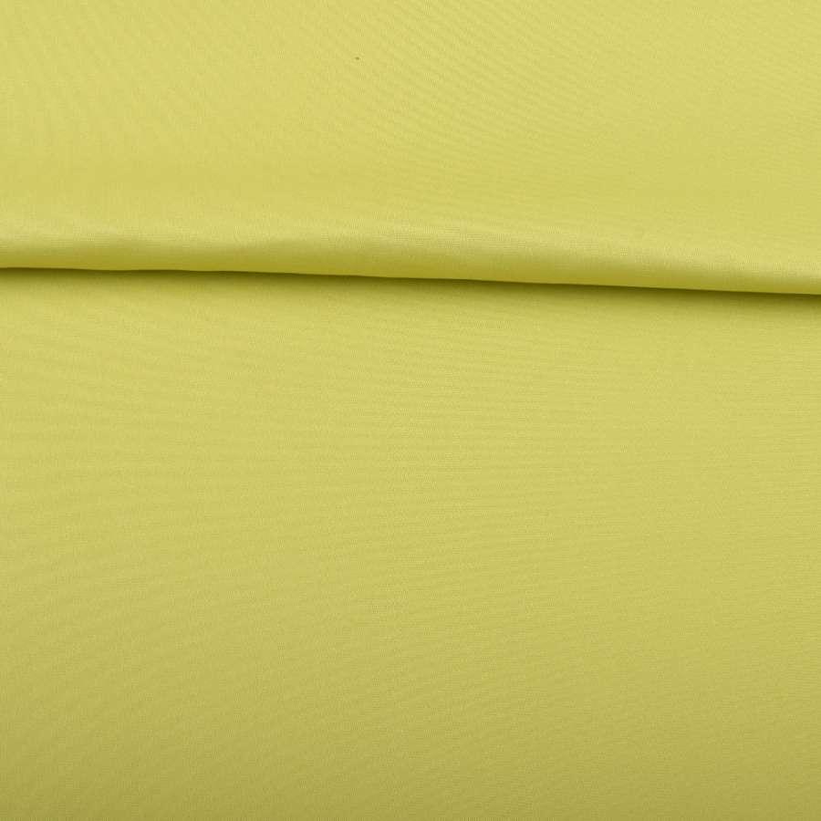 Поливискоза костюмная стрейч салатовая ш.150
