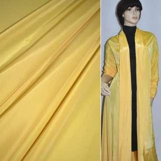Ткань плащевая желтая ш.150