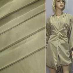 Ткань плащевая бежевая ш.150