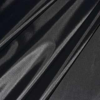 Ткань плащевая черная (тонкая) ш.150