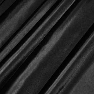Ткань плащевая блестящ. черная ш.150