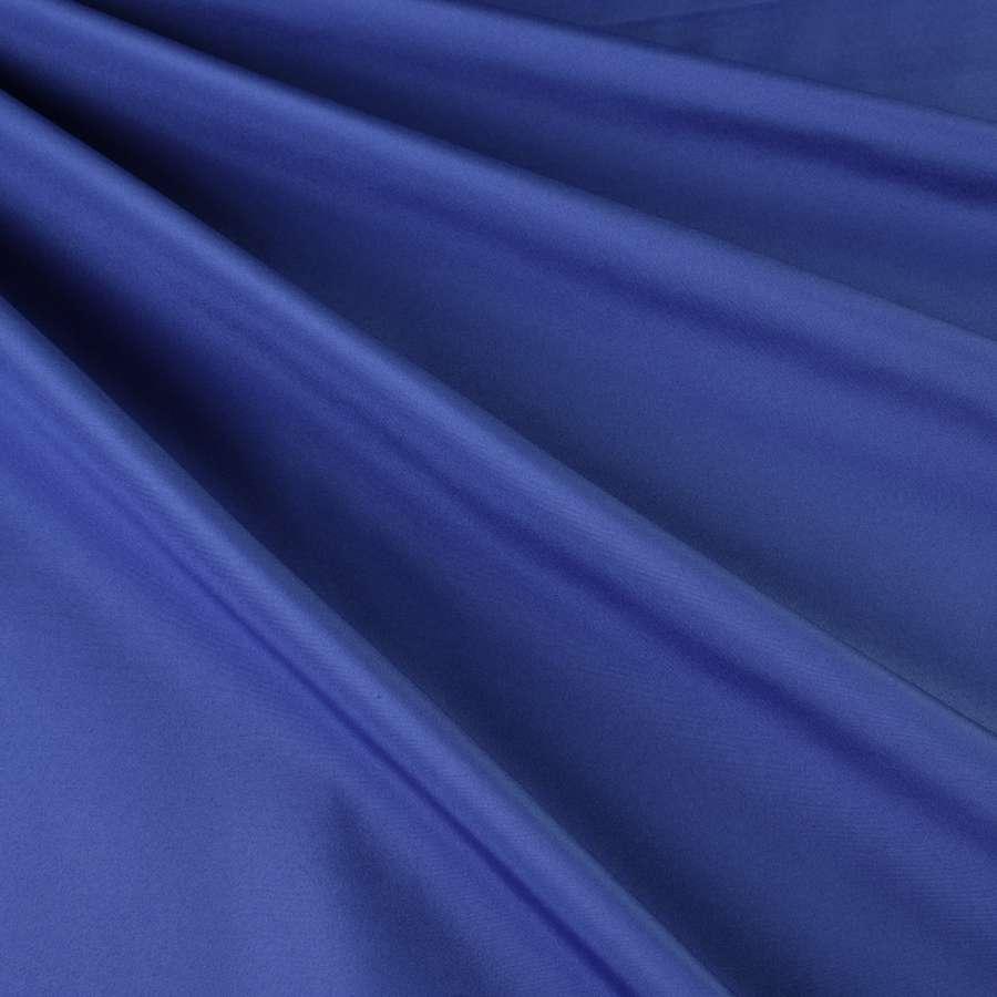 Бондинг (плащівка на трикотажній основі) синій яскравий ш.148