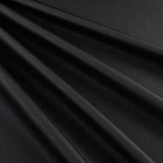 Бондинг (плащевка на трикотажной основе) черный ш.145