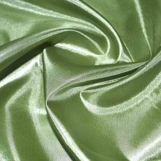 Шелк ацетатный зеленый светлый ш.150