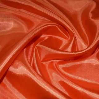 Шовк ацетатний оранжево-червоний ш.150