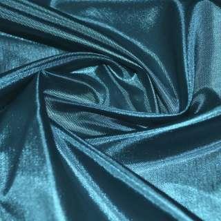 Шовк ацетатний синьо-зелений ш.150