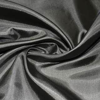 Ацетатный шелк коричнево-серый ш.150