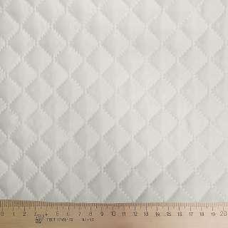 Ткань подкладочная термостеганая молочная (синтепон 100), ш.150
