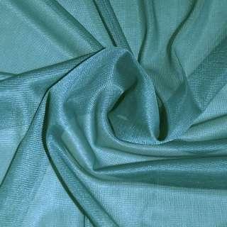 подкладка трикотажная бирюзовая, ш.150 см.