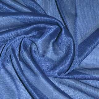 подкладка трикотажная синяя, ш.150 см.