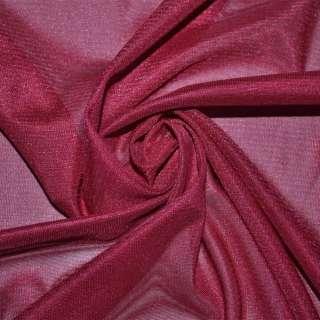 ткань подклад. трикотажная вишневая ш.156