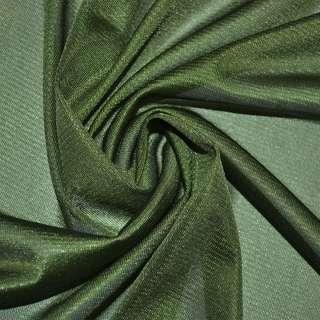 ткань подклад. трикотажная зеленая ш.160