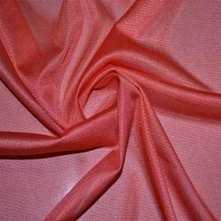 ткань подклад. трикотажная кораллово-красная ш.155