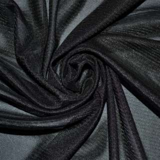 ткань подклад. трикотажная черная ш.155
