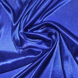ткань подклад. трикотажная синяя ш.150