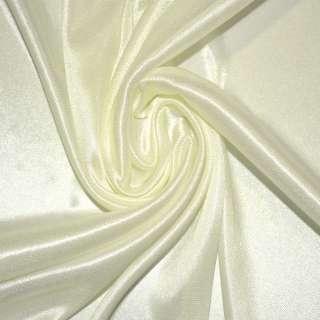 ткань подклад. трикотажная кремовая ш.155