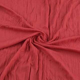 Сетка подкладочная жатая красная ш.130