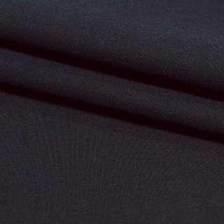Поплин стрейчевый черный ш.150