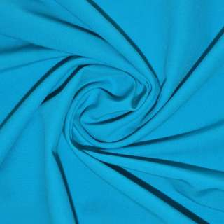 Поплін стрейчевий яскраво-блакитний ш.150