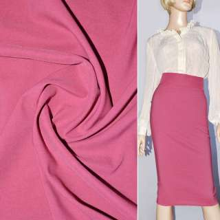 Поплін стрейчевий рожево-бузковий ш.150