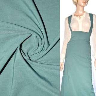 Поплин стрейчевый зелено серый ш.150