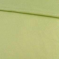 Рогожка салатово-желтая, ш.140