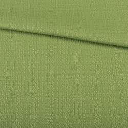 Рогожка хлопковая зеленая светлая, ш.145