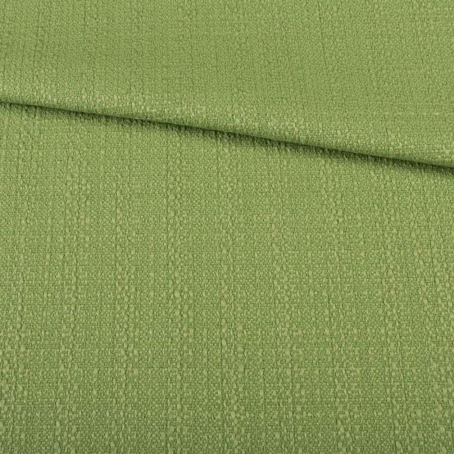 Рогожка зеленая светлая, ш.145