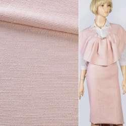 Рогожка розовая светлая, ш.140