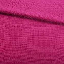Рогожка малиновая ш.150