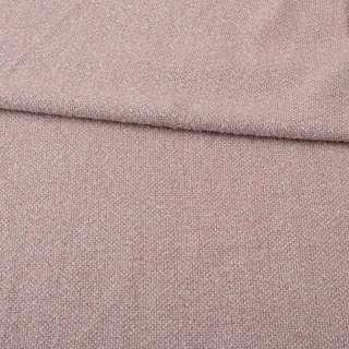 Букле костюмное молочно-розовое ш.150