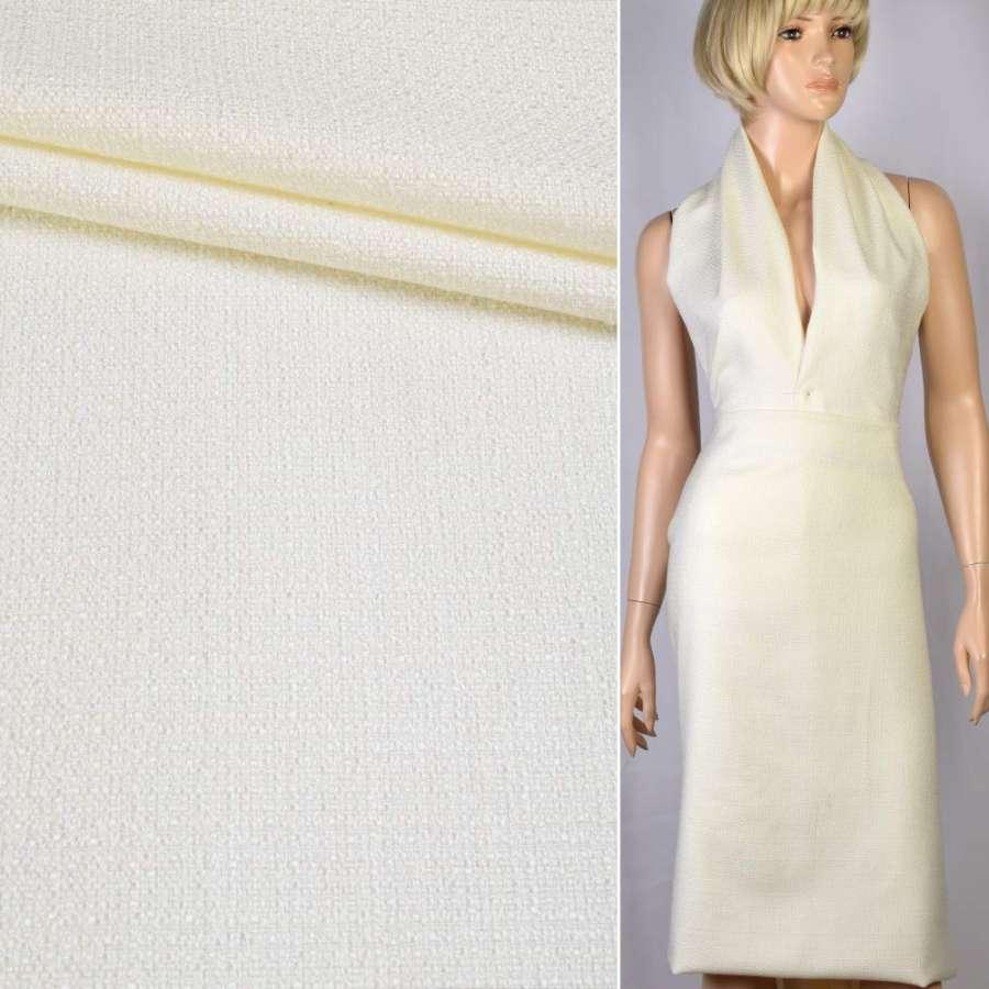 Рогожка молочное плетение ш.150