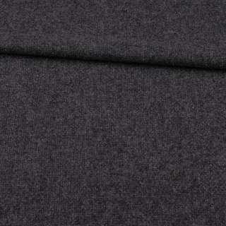 Рогожка вовняна сіра темна ш.145