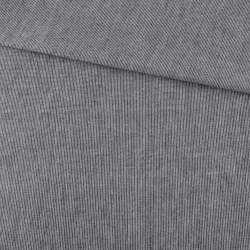Тканина сорочкова чорна меланж ш.145