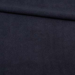 Рогожка синяя микрофибра, ш.154