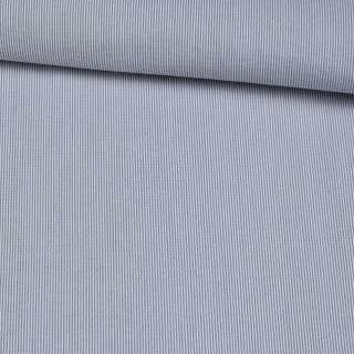 Поплін сорочковий в сіру, білу смугу 0,5 * 0,5 мм ш.145