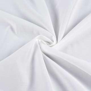 Поплін віскозний сорочковий білий, ш.150