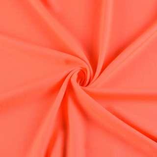 Поликоттон стрейч оранжевый неон, ш.145