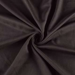 Поликоттон стрейч коричневый темный, ш.155
