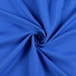 Поликоттон стрейч синий, ш.152