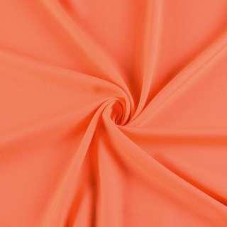 Поликоттон стрейч помаранчевий, ш.155