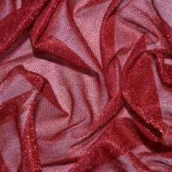 Трикотаж красный с метанитью ш.115