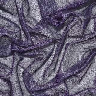 Трикотаж фиолетовый с метанитью ш.115