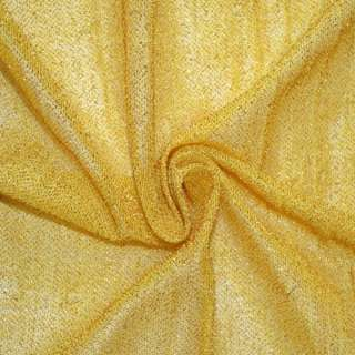 Трикотаж желтый с метанитью ш.115
