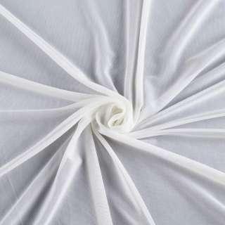 Сітка стрейчева щільна біла ш.160