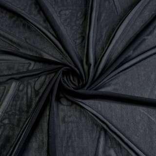 Сітка стрейчева щільна чорна ш.160
