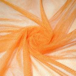 Сетка мягкая тонкая оранжевая (мягкая) ш.150