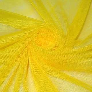 Сетка мягкая тонкая желтая, ш.160