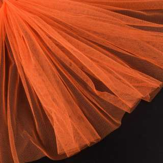 сітка дрібна м'яка оранжево-червона ш.165